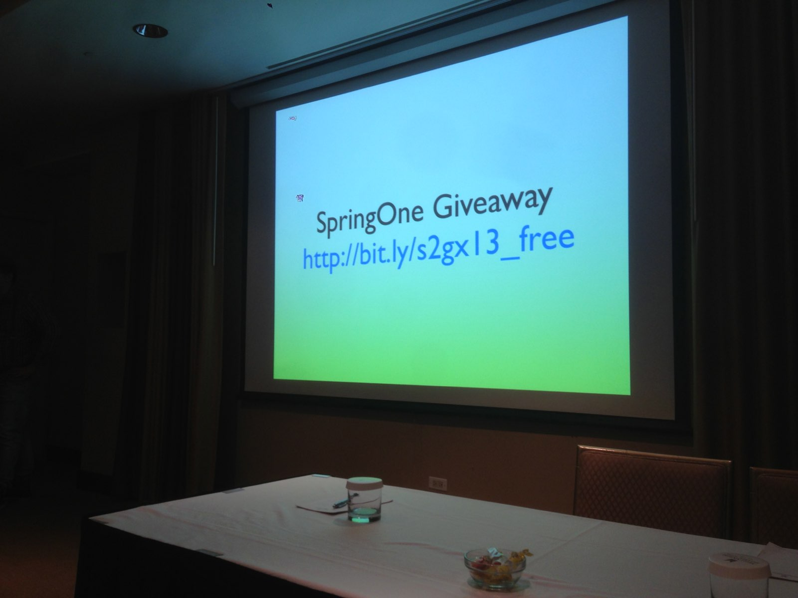 SpringOne Giveway