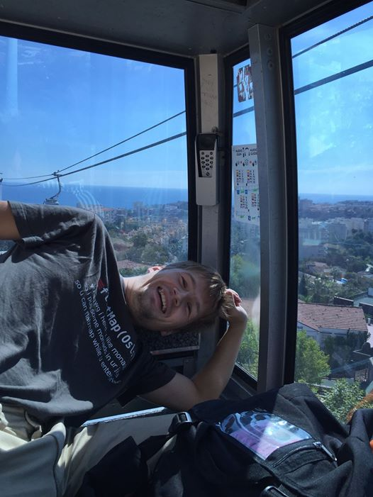 Me at cable car
