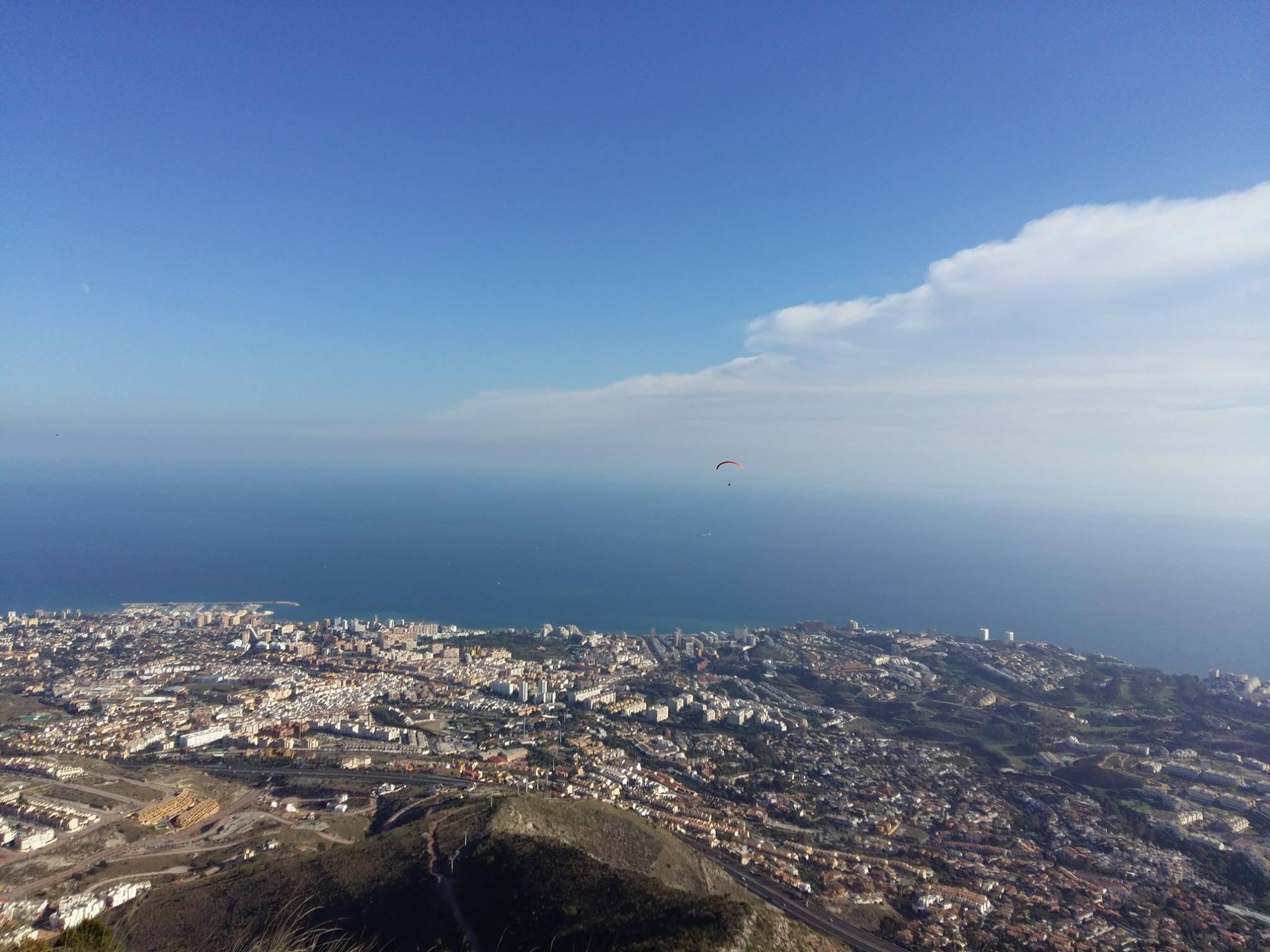 Above the Benalmadena