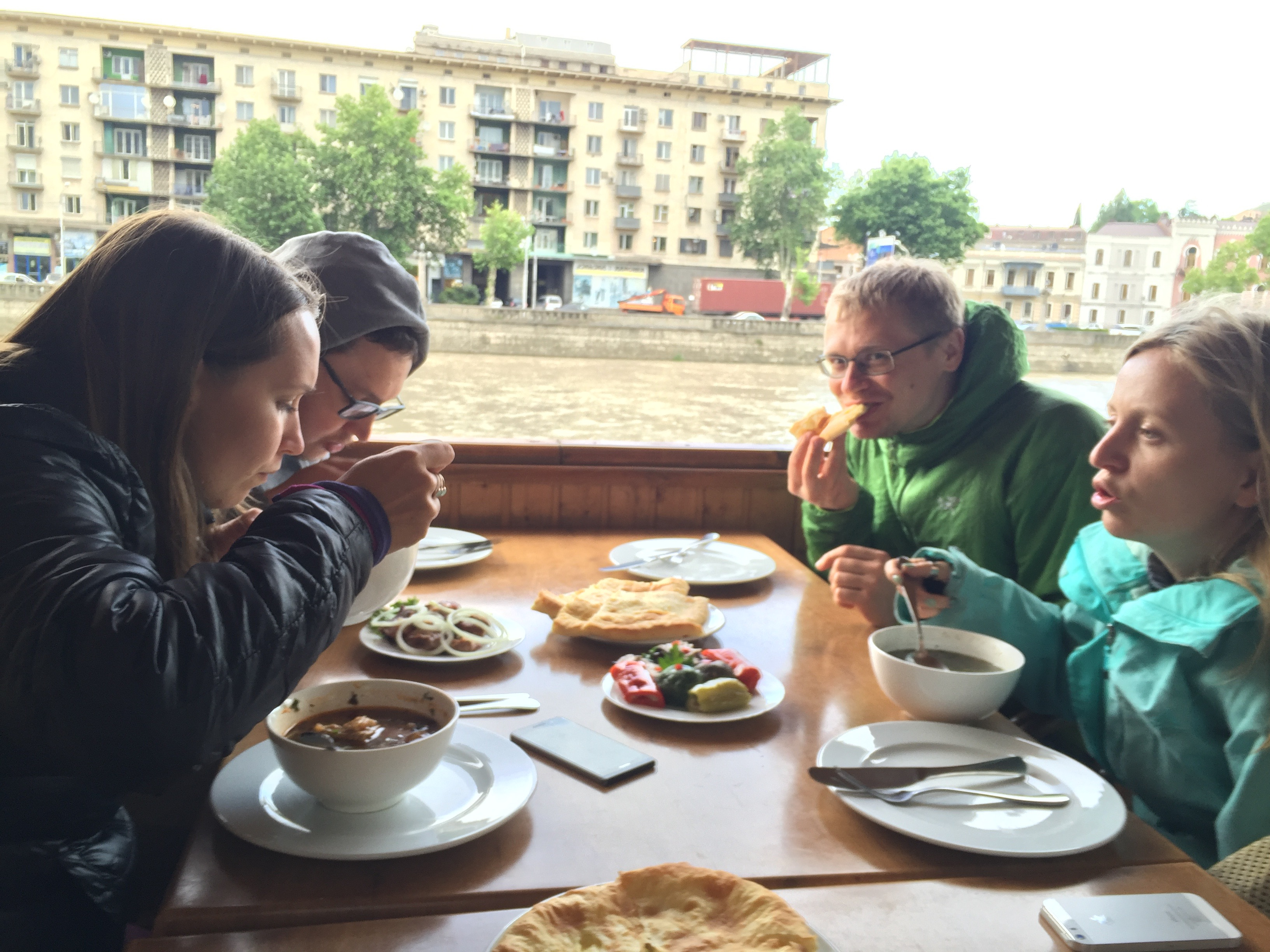Dining in Tbilisi