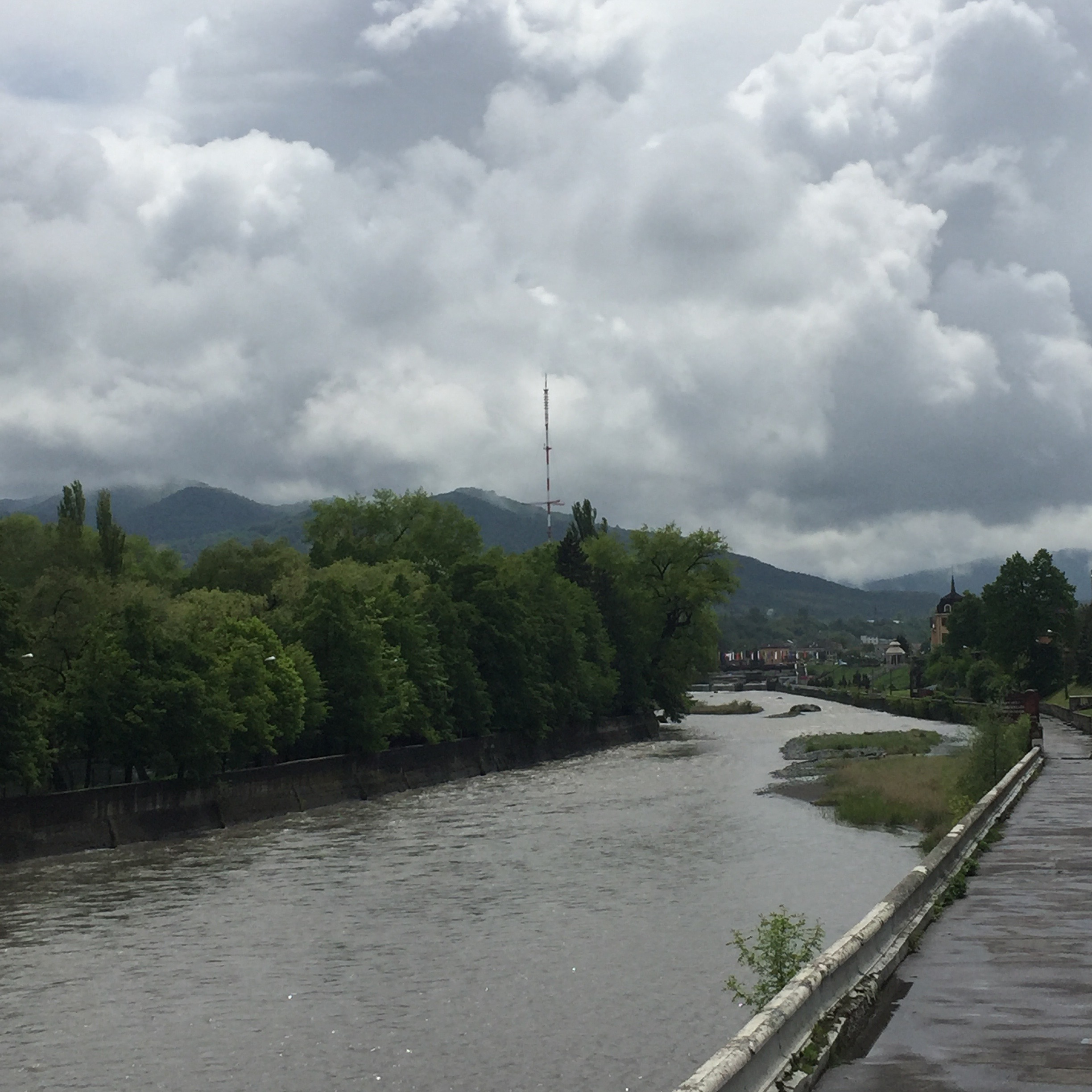 Vladikavkaz river view